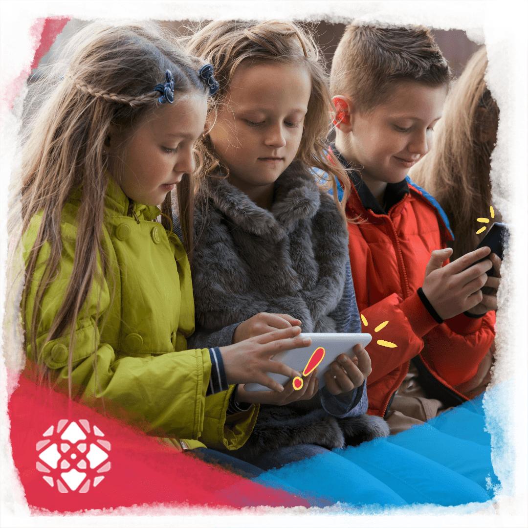 Crianças viciadas em celular e tablet: dicas no site da explot e truth and tales