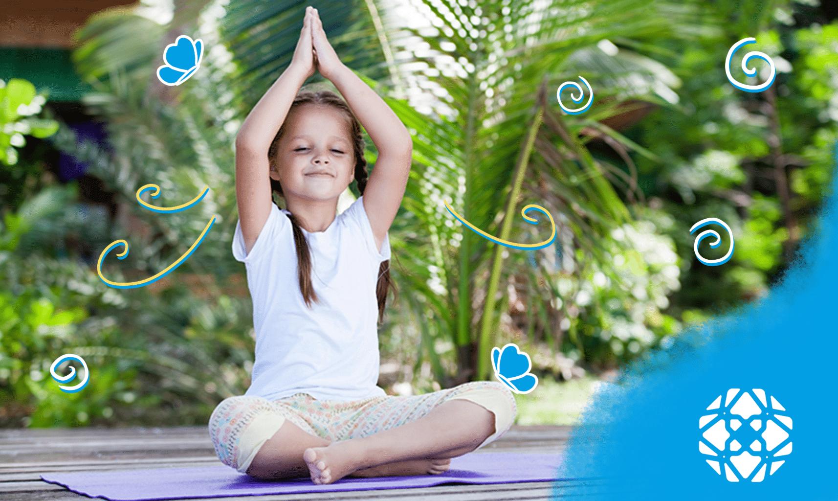 Yoga Truth and Tales crianças bem-estar exercícios